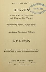 Cover of: [Works of Dwight L. Moody]
