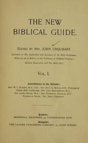 Cover of: The new Biblical guide |