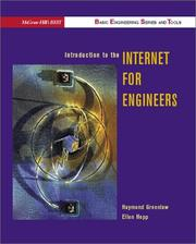 Cover of: Introduction to the Internet for engineers | Raymond Greenlaw