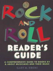 Cover of: The rock and roll reader's guide