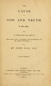 Cover of: The cause of God and truth
