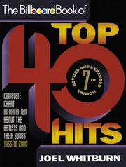 Cover of: The Billboard book of top 40 hits