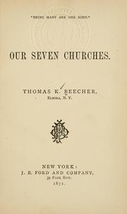Cover of: Our seven churches