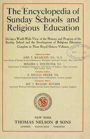 Cover of: The Encyclopedia of Sunday schools and religious education |