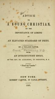 Cover of: Advice to a young Christian