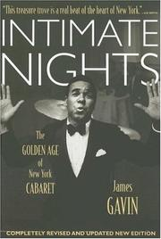 Cover of: Intimate Nights | James Gavin