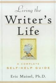 Cover of: Living the writer's life