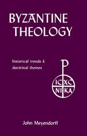 Cover of: Byzantine theology