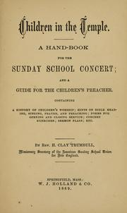Cover of: Children in the temple