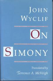 Cover of: On simony | John Wycliffe