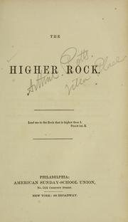 Cover of: The higher rock. |