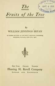 Cover of: The fruits of the tree