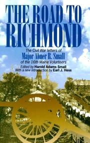 Cover of: The road to Richmond