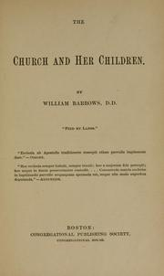 Cover of: The church and her children