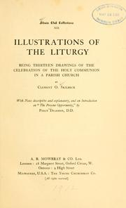 Cover of: Illustrations of the liturgy | Clement O. Skilbeck