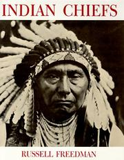 Cover of: Indian chiefs | Russell Freedman