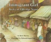 Cover of: Immigrant girl | Brett Harvey