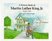 Cover of: A picture book of Martin Luther King, Jr.
