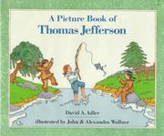 Cover of: Picture Book of Thomas Jefferson