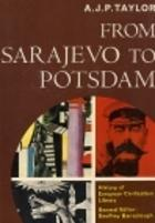 Cover of: From Sarajevo to Potsdam