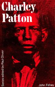Cover of: Charley Patton