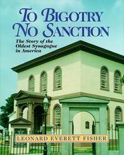 Cover of: To Bigotry No Sanction