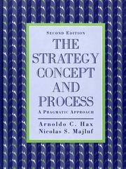 Cover of: The strategy concept and process