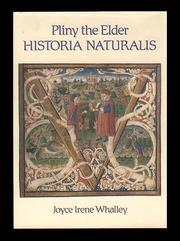 Pliny the Elder, Historia naturalis by Joyce Irene Whalley
