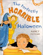 Cover of: The perfectly horrible Halloween
