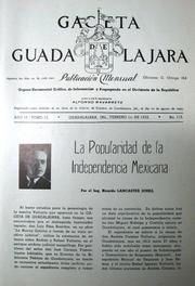 Cover of: La Popularidad de la Independencia Mexicana by Ricardo Lancaster-Jones