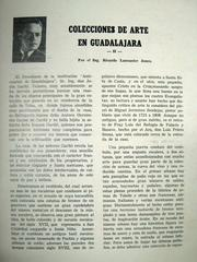 Cover of: Colecciones de Arte en Guadalajara II by Ricardo Lancaster-Jones