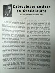 Cover of: Colecciones de Arte en Guadalajara IV by Ricardo Lancaster-Jones