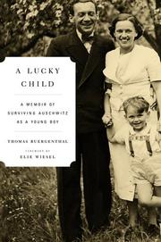 Cover of: A lucky child | Thomas Buergenthal