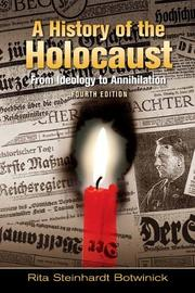 Cover of: A history of the Holocaust