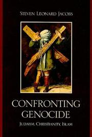 Cover of: Confronting genocide |
