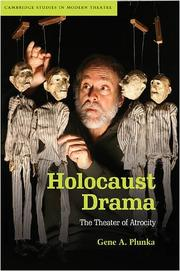 Cover of: Holocaust drama