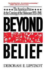 Beyond belief by Deborah E. Lipstadt