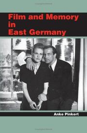 Cover of: Film and Memory in East Germany | Anke Pinkert