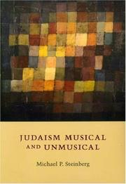 Cover of: Judaism Musical and Unmusical | Michael P. Steinberg