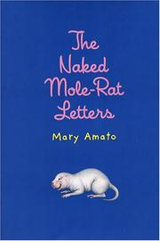 Cover of: The naked mole-rat letters