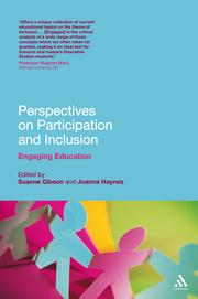 Cover of: Perspectives on participation and inclusion |