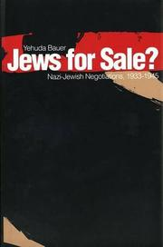 Cover of: Jews for sale?