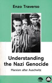 Cover of: Understanding The Nazi Genocide