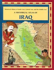 Cover of: A Historical Atlas of Iraq (Historical Atlases of South Asia, Central Asia and the Middle East) |