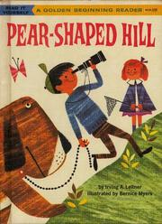 Cover of: The pear-shaped hill