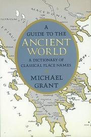 Cover of: A guide to the ancient world