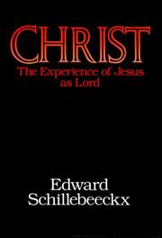 Cover of: Christ