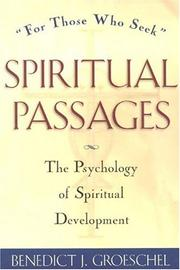 Cover of: Spiritual passages
