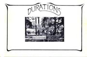 Cover of: Durations | Fred Douglas