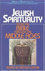 Cover of: Jewish Spirituality Vol. 1